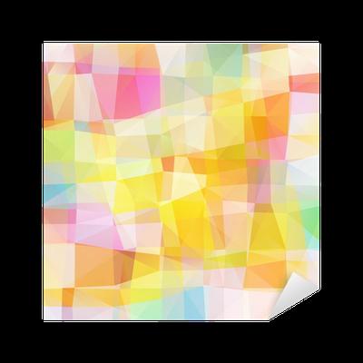 Vinilo pixerstick vector pixel mosaico multicolor pixers vivimos para cambiar - Fotomurales pixel ...