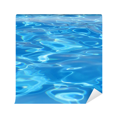 abstract pool water texture wall mural • pixers® • we live