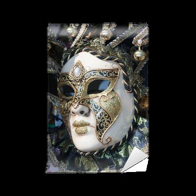 beautiful decorative venetian mask Wall Mural • Pixers® • We live to ...