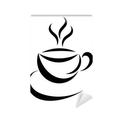 Coffee Cup Symbol Wall Mural Pixers We Live To Change