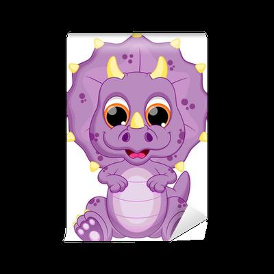 Cute baby dinosaur cartoon | Stock Vector | Colourbox  |Baby Dinosaur Big Eyes