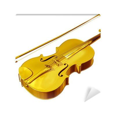 Goldene Violin Symbol Für Qualität In Klassischer Musik Wall Mural - Vinylboden qualitätsunterschiede