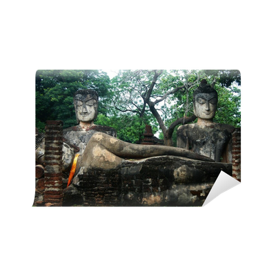 Kamphaeng Phet Historical Park Aranyik Areabuddha Of Thailand Wall Mural Pixers We Live To Change