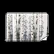 natural background - birch - wallpaper Vinyl Wall Mural