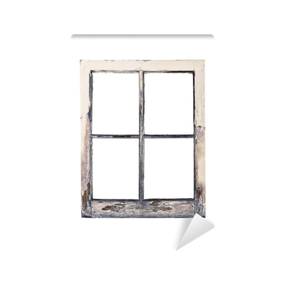 Old Rustic Window Frame Wall Mural O PixersR We Live To Change