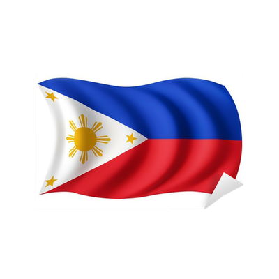 Philippines Flag Filipino Flag Wall Mural Pixers