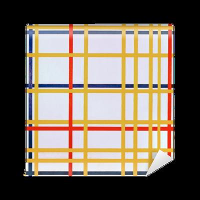 Piet Mondrian - New York City I Vinyl Wall Mural