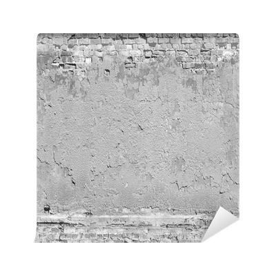 Plaster And Brick Wall Texture Background In Black White Mural O PixersR We Live To Change