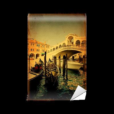 Rialto Bridge - Venice Wall Mural • Pixers® • We live to change