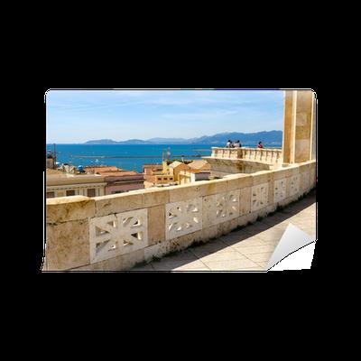 Sardegna Cagliari Terrazza Umberto I Wall Mural Pixers We Live To Change