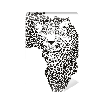 Symbol Africa In Leopard Camouflage Wall Mural Pixers We Live