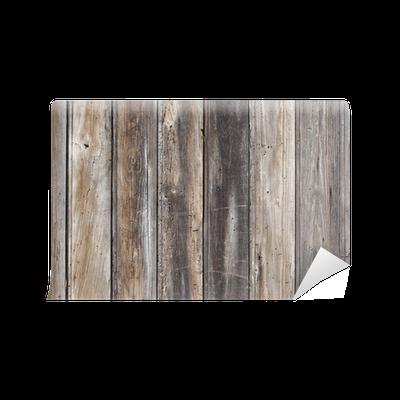 Vieilles planches en bois wall mural pixers we live for Vieille planche de bois