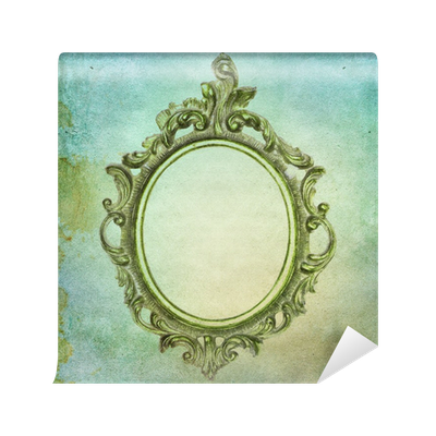 Vintage Shabby Chic Background With Frame Wall Mural O PixersR We Live To Change