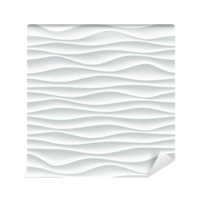 white wave pattern background with seamless wave wall