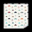 colored ufo Vinyl Wallpaper