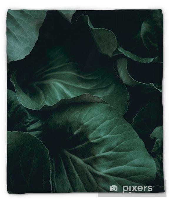 Coperta di peluche Sfondo vegetale - Risorse Grafiche