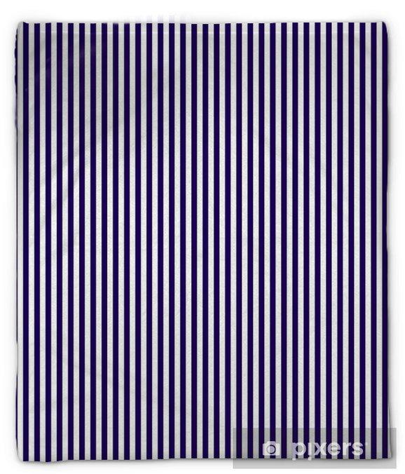 Couverture en molleton Seamless de fréquentes rayures bleues verticales foncées. Linéaire fond de rayures verticales. Vector illustration - Ressources graphiques