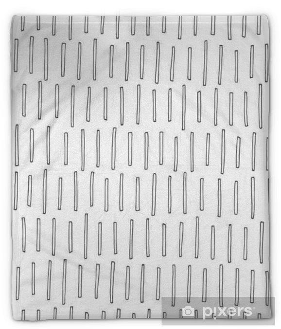 Koc pluszowy Abstrakcyjny wzór - Zasoby graficzne
