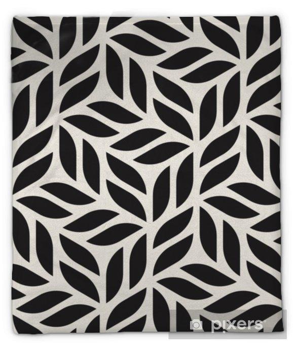 Koc pluszowy Wektor wzór. nowoczesny stylowy streszczenie tekstura. powtarzanie geometrycznych kształtów z elementów w paski - Zasoby graficzne