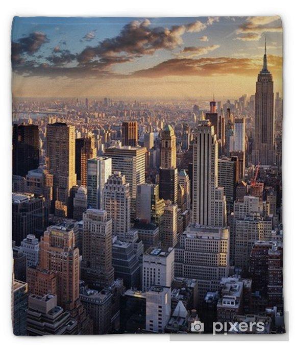 Manta de felpa Nueva york city, nyc, usa - Viajes