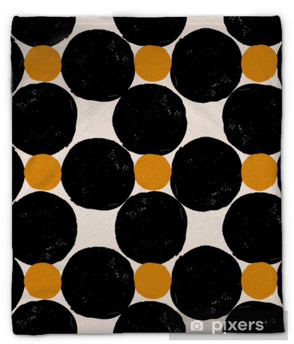 Pluche deken Abstract geometrisch patroon - Grafische Bronnen