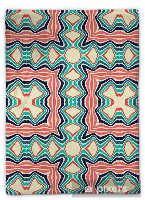 Pluche deken Naadloze patroon - Achtergrond