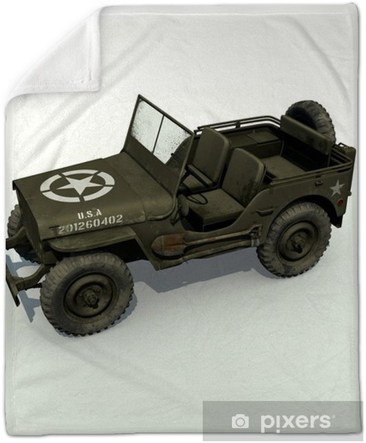 6dfb81ffed7 3d Isolated S Jeep Plush Blanket Pixers We Live To Change
