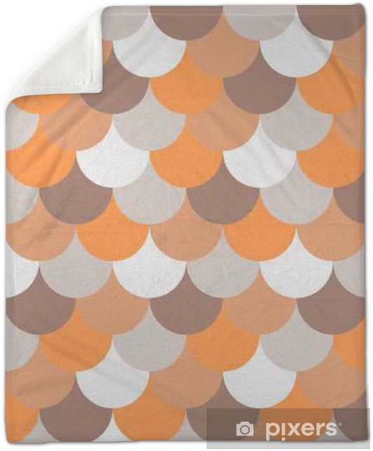 abstract seamless geometric pattern Plush Blanket - Graphic Resources