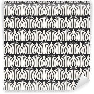 Afwasbaar Behang Naadloze geometrische patroon