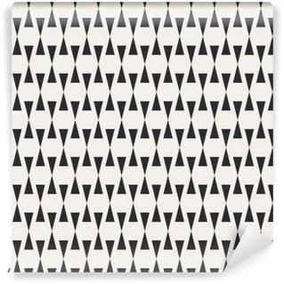 Vinyl behang, op maat gemaakt Naadloze geometrische patroon