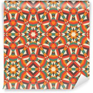 Carta da Parati a Motivi in Vinile Mosaic Seamless Pattern