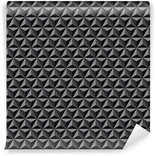 Vinil Duvar Kağıdı 3d geometrik model. dokulu arka plan.