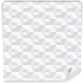 Vinil Duvar Kağıdı Beyaz doku - dikişsiz vektör arka plan