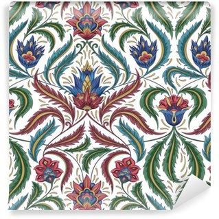 Vinil Duvar Kağıdı Çiçek deseni