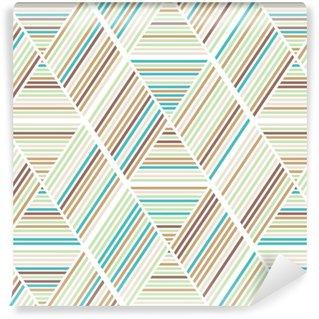 Vinil Duvar Kağıdı Dikişsiz soyut geometri arka plan deseni