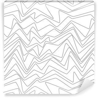 Vinil Duvar Kağıdı Dikişsiz tekrarlayın Minimal çizgiler soyut strpes kağıt dokuma kumaş desen