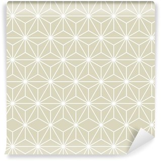 Vinil Duvar Kağıdı Dikişsiz Vektör Geometrik Desen Doku