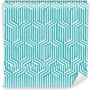 Vinil Duvar Kağıdı Dikişsiz Vektör Geometrik Desen. geometrik doku desen tekrarı. Vector illustration.