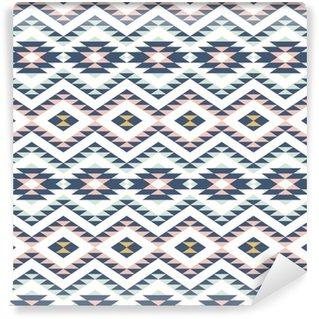 Vinil Duvar Kağıdı Etnik takı ile Seamless pattern