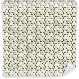 Vinil Duvar Kağıdı Özet metal süsleme arka plan. Dikişsiz.