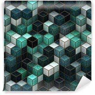 Vinil Duvar Kağıdı Q-bert tasarımı