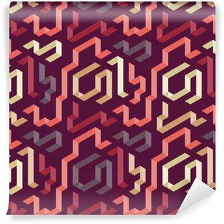Vinil Duvar Kağıdı Renk geometrik şekil desen
