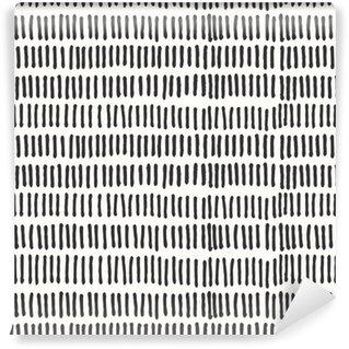 Vinil Duvar Kağıdı Soyut çizgiler seamless pattern.