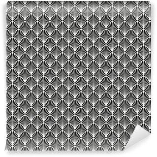 Vinil Duvar Kağıdı Soyut Dikişsiz Art Deco Vektör Desen Doku