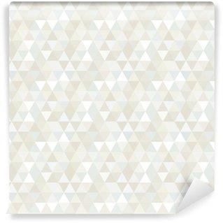 Saumaton kolmio kuvio, tausta, tekstuuri Itsestäänkiinnittyvä Tapetti