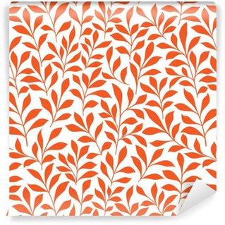 Papel de parede em vinil à sua medida Pattern ervas selvagens Seamless