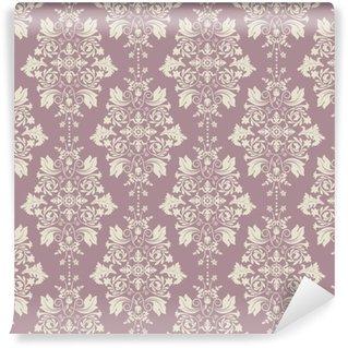 Vector clásico papel pintado, el fondo del damasco