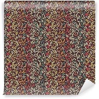 Patrón floral. Deja la textura. Fondo abstracto con estilo del ornamental de la planta del vector.