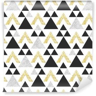 papiers peints motifs triangles pixers nous vivons pour changer. Black Bedroom Furniture Sets. Home Design Ideas