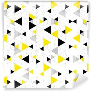 Papier Peint à Motifs Vinyle Géométrique, modèle, fond